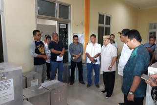 Wagub Tinjau Kesiapan KPU Gorontalo Utara