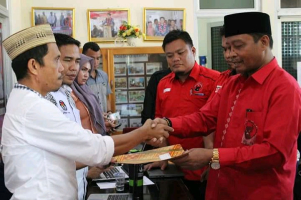 PDIP Targetkan Sembilan Kursi DPRD Kabupaten