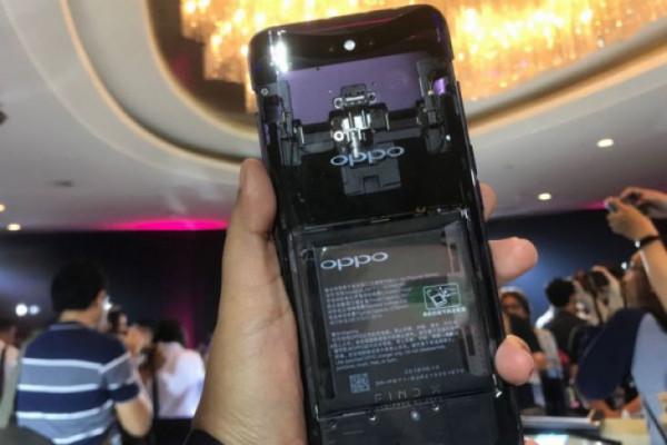 Menjajal Kamera Oppo Find X