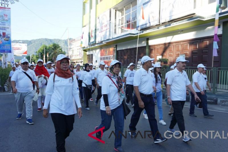 BUMN Hadir - Jalan Sehat BHUN Di Gorontalo