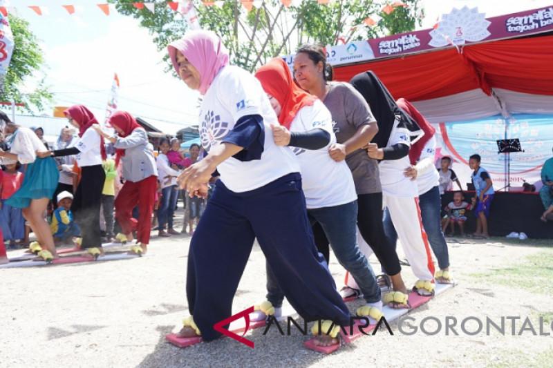 BUMN Hadir - Jamkrindo-Perumnas Hadirkan Lomba Tradisional