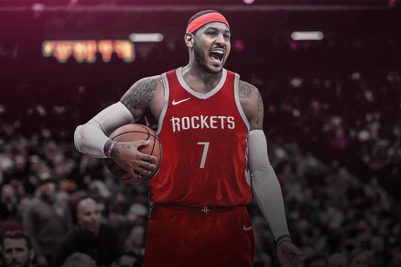 Rockets Hadapi Musim Berat Bersama Carmelo Anthony