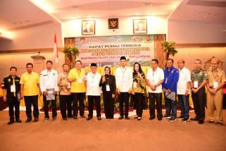 KPU Tetapkan Marthen-Ryan Wali Kota Gorontalo Terpilih