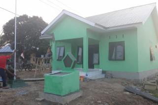 Satgas TMMD Selesaikan Pembangunan Kantor Tiga Pilar