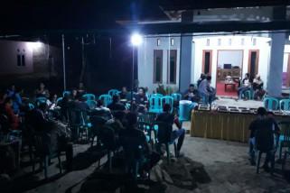 Satgas TMMD Silaturahmi Bersama Masyarakat Desa