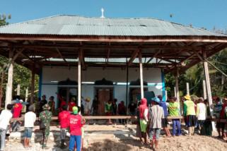 Masyarakat Apresiasi Satgas Renovasi Masjid Al-Ikhlas