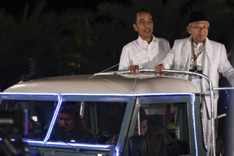 Jaringan Kiai Santri Dukung Jokowi-Ma