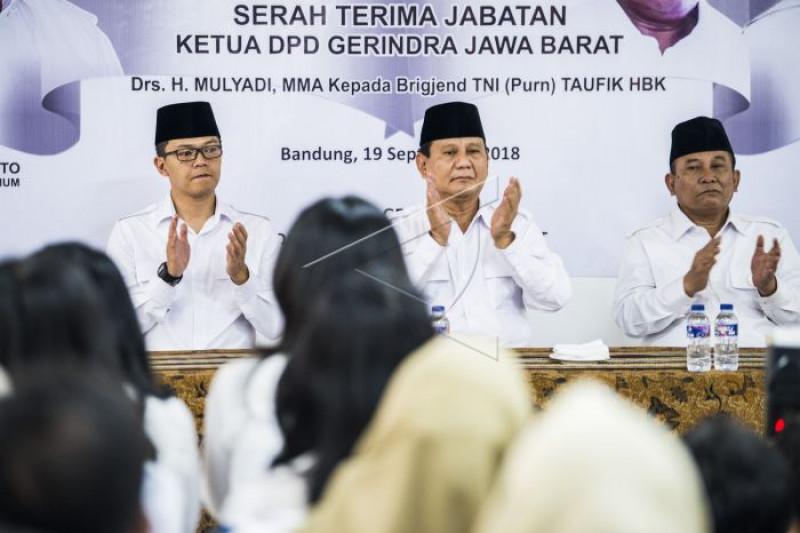 Penyusunan Anggota Badan Pemenangan Prabowo-Sandi Rampung