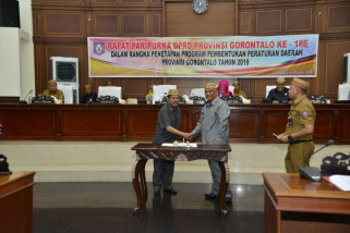 Gubernur Gorontalo Minta Jajaran Selektif Membuat Perda