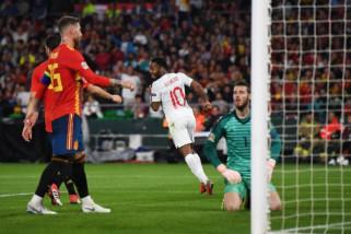 Hasil dan Klasemen Nations League Inggris Kejutkan Spanyol
