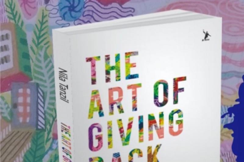 """Nila Tanzil Bagikan Kenikmatan Berbagi Lewat Buku """"The Art of Giving Back"""""""