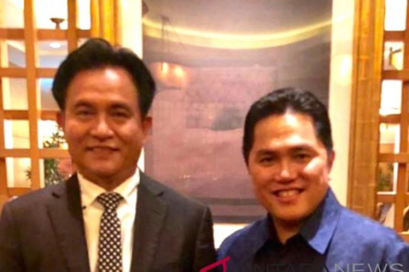 Yusril Bersinergi Dengan Direktorat Hukum Tim Kampanye Jokowi-Ma