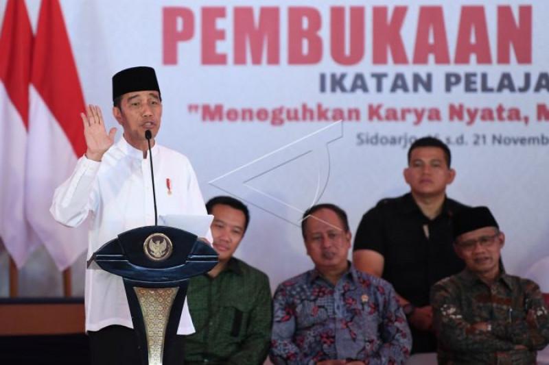Presiden Jokowi Buka Muktamar Pelajar Muhammadiyah