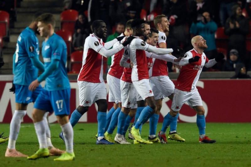 Slavia Praha Bekuk Zenit Untuk Lolos Ke 32 Besar