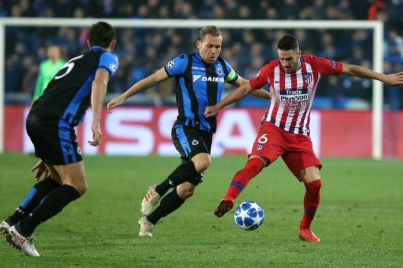 Atletico Madrid Ditahan Imbang Tanpa Gol Oleh Brugge