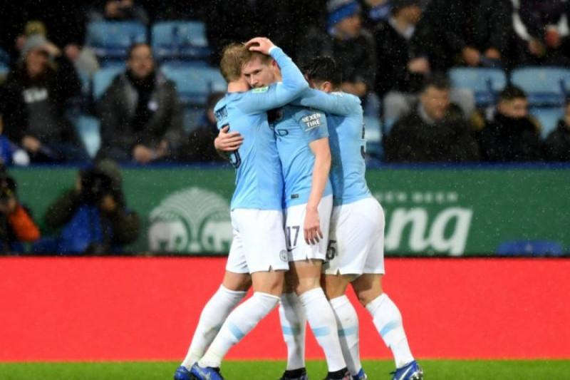 City Singkirkan Leicester Untuk Menuju Semifinal Piala Liga