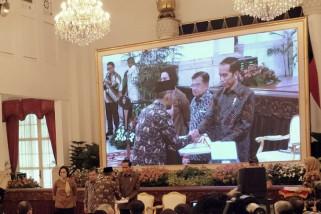 Presiden Jokowi Serahkan DIPA 2019