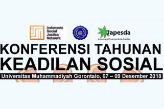 Konferensi Keadilan Sosial Digelar di Gorontalo