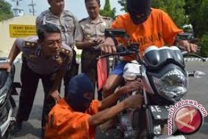 Polresta Jambi tangkap spesialis pencurian motor