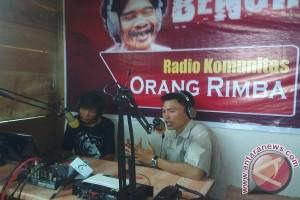 Radio Orang Rimba  sarana informasi di hutan