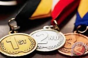 Jambi 10 besar sementara perolehan medali dayung PON