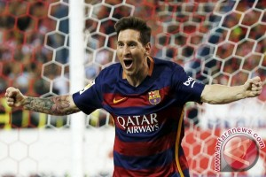 Messi trigol, Barcelona tekuk City 4-0