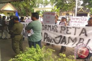 Warga tolak keberadaan Ormas Peta di Jambi
