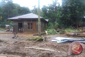 Banjir Bandang di Bungo terjang dua desa