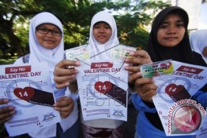 "Aceh larang perayaan ""valentine day"""