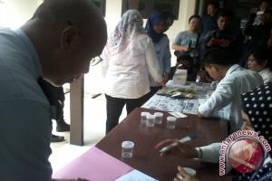 127 Pegawai Kemenkumham Jambi Dites Urine Mendadak