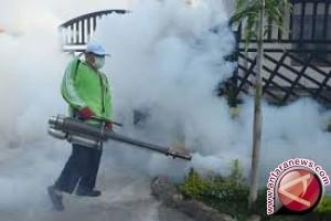 Warga desa di Tanjabtim fogging sendiri cegah dbd