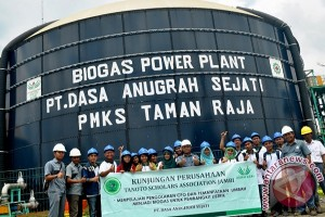 Mahasiswa kunjungi PLTBg Tanjung Jabung Barat