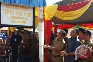 Pasar tradisional  Keramat Tahan Kilang resmi beroperasi