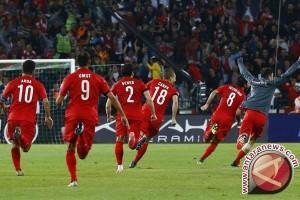Menang 2-0, Turki singkirkan Ceko