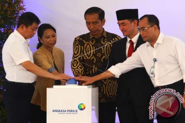 Bandara sultan Thaha diresmikan Presiden