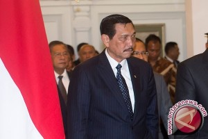 Luhut enggan berkomentar terkait penolakan terhadap Wiranto