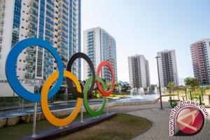 Kontingen Indonesia sudah masuk perkampungan atlet Olimpiade