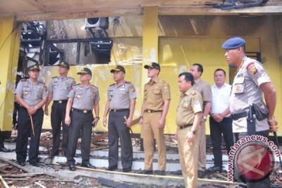 Kapolda : Lambang negara dibakar saat Mapolsek diserang