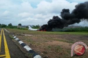 Bandara Jambi simulasi penanganan kecelakaan pesawat