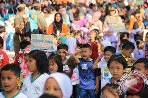 4.000 anak paud Jambi pecahkan rekor MURI