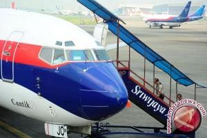 Sriwijaya Air tergelincir di Bandar Udara Internasional Juanda