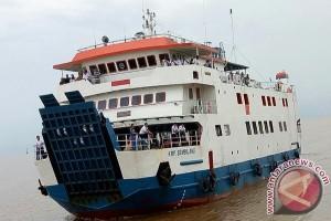 Ini dia ujicoba sandar pelabuhan baru Roro di Kualatungkal