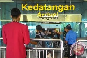 Lebaran 2017 - Pemudik tiba di bandara Jambi 27.585 orang