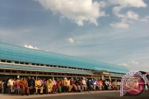 1.029 ASN Kota Jambi dikumpulkan di bawah terik matahari