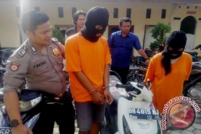 Polisi tangkap pasangan kekasih pelaku curanmor