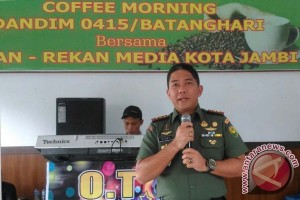 Dandim: Media di Jambi harus jadi filter informasi