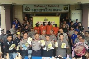 Polisi amankan 8,7 kilogram sabu dari pelabuhan
