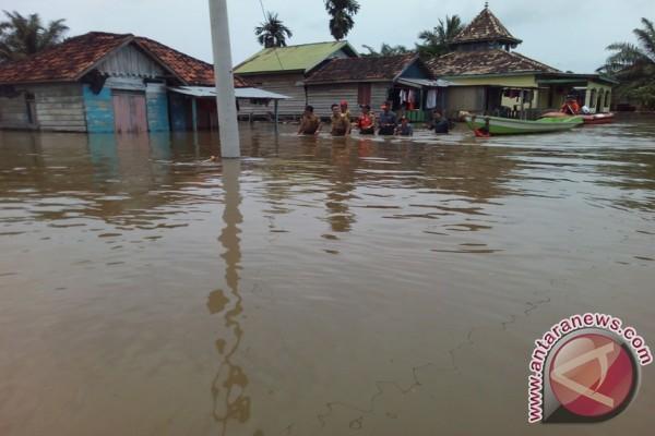 Warga Jambi terdampak banjir capai 104.343 jiwa