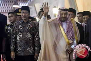 Bintang Republik Indonesia adipurna untuk Raja Salman