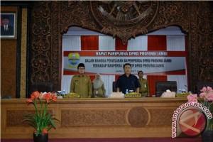 DPRD dengarkan tanggapan eksekutif atas lima Raperda inisiatif